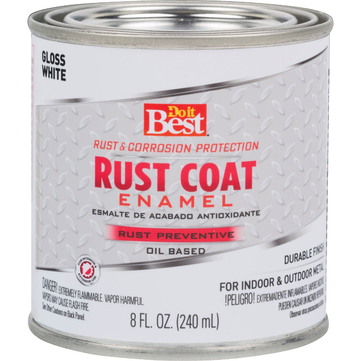 WHITE RUST ENAMEL - 1101 by Rustoleum