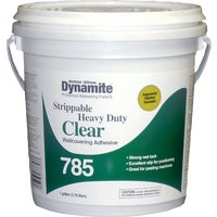 Dynamite 785 Heavy-Duty Clear Strippable Wallcovering Adhesive, 2149533