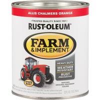 Rust Oleum AC ORNG IMPLEMNT ENAMEL 7458-502