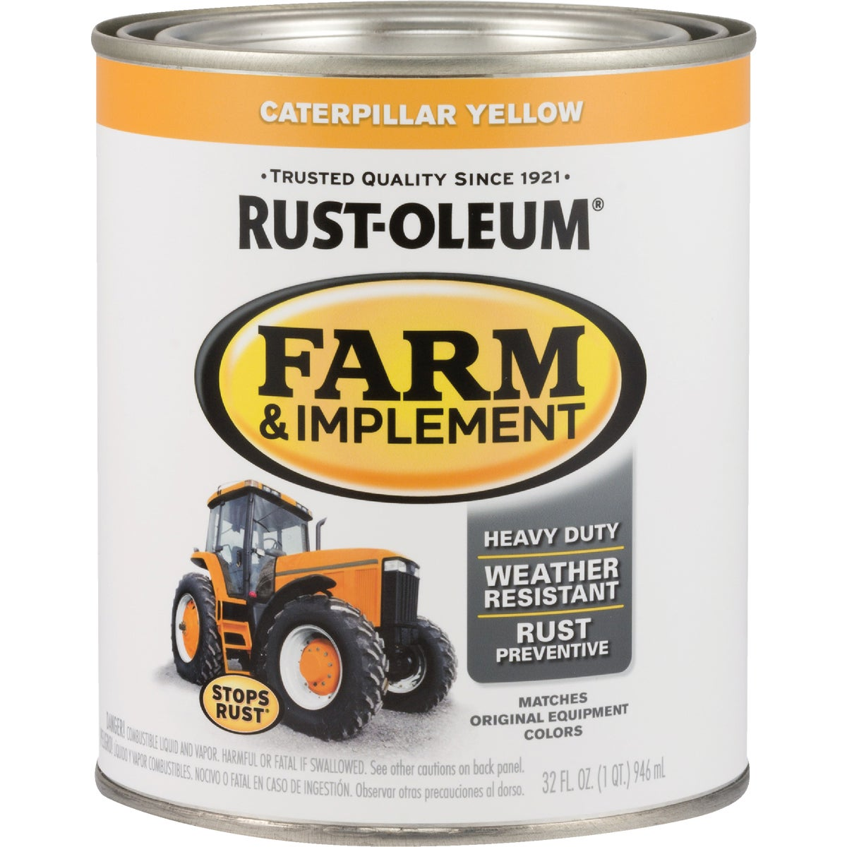 CAT YEL IMPLEMENT ENAMEL - 7449-502 by Rustoleum