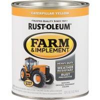 Rust Oleum CAT YEL IMPLEMENT ENAMEL 7449-502