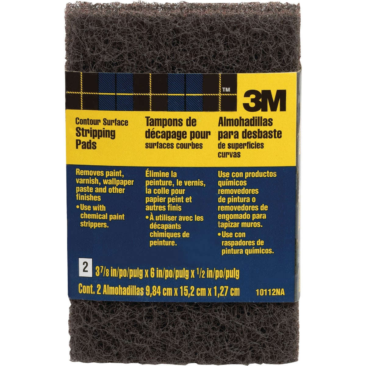 2PK H/D STRIPPING PADS - 10112NA by 3m Co