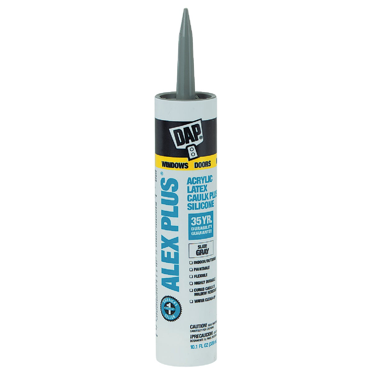 SLT GRAY ALEX PLUS CAULK - 18118 by Dap Inc
