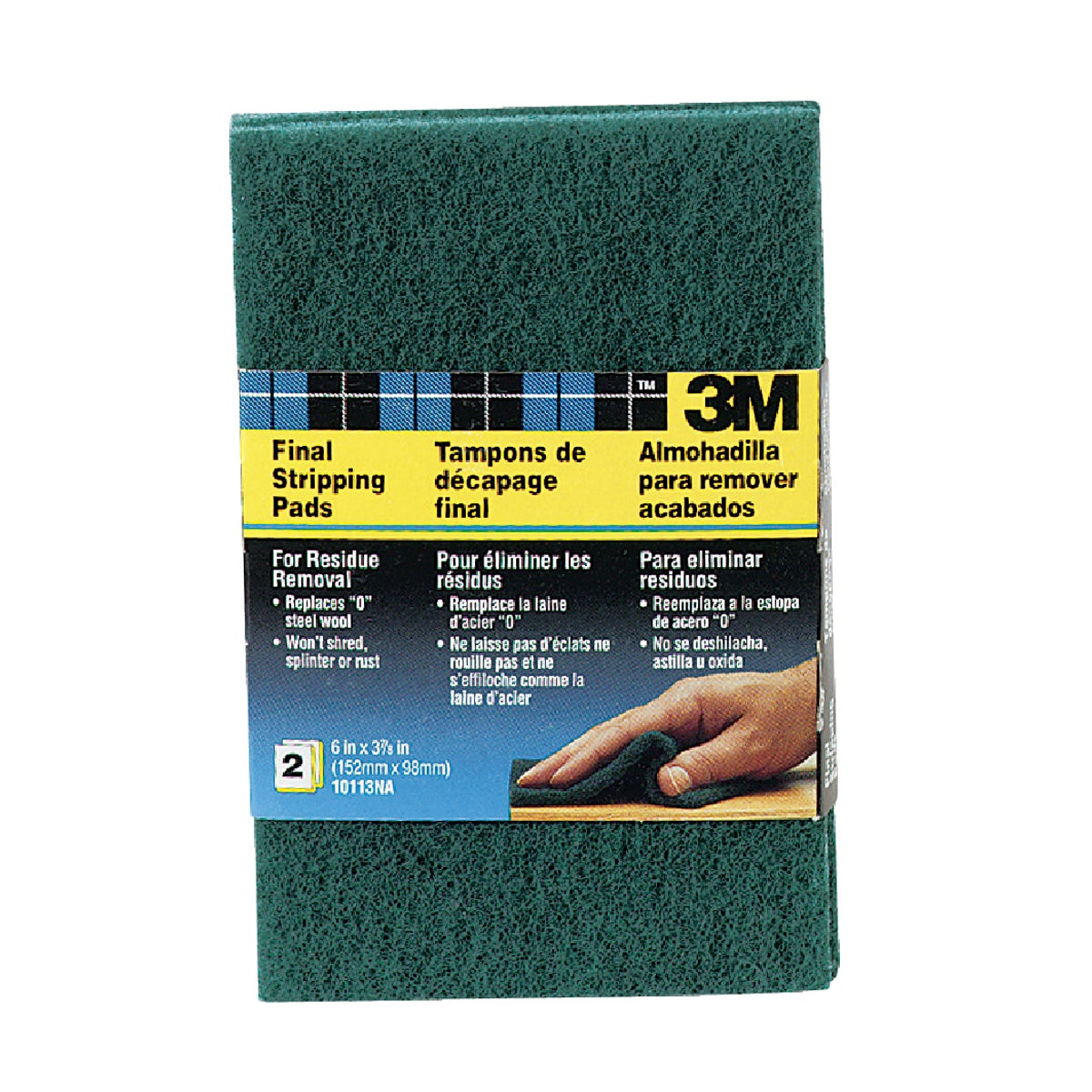 2PK FINAL STRIPPING PADS - 10113NA by 3m Co