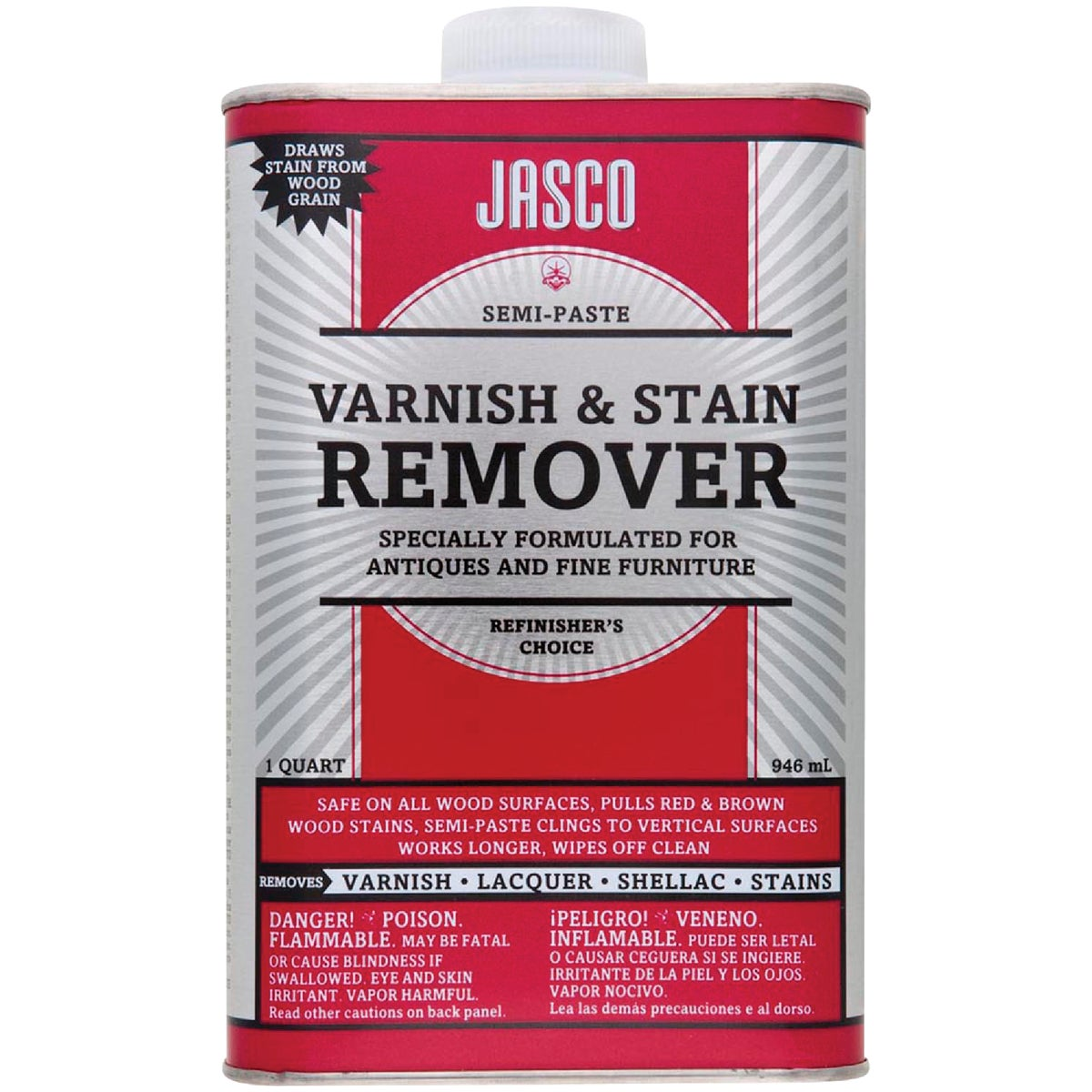 VARNISH & STAIN REMOVER