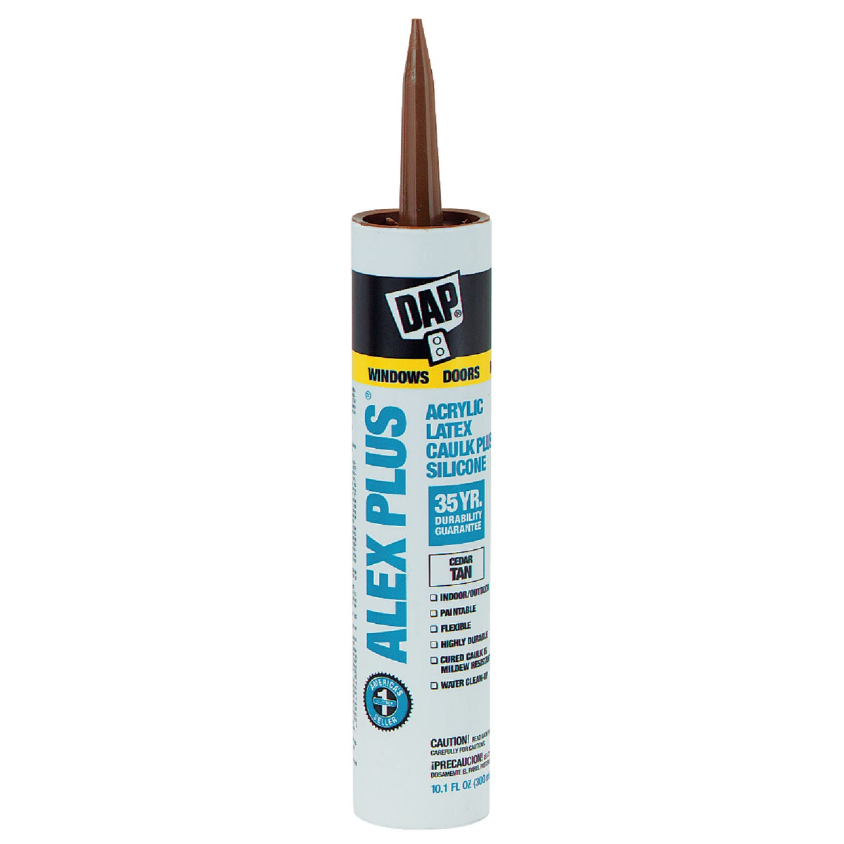 CEDR TAN ALEX PLUS CAULK - 18122 by Dap Inc