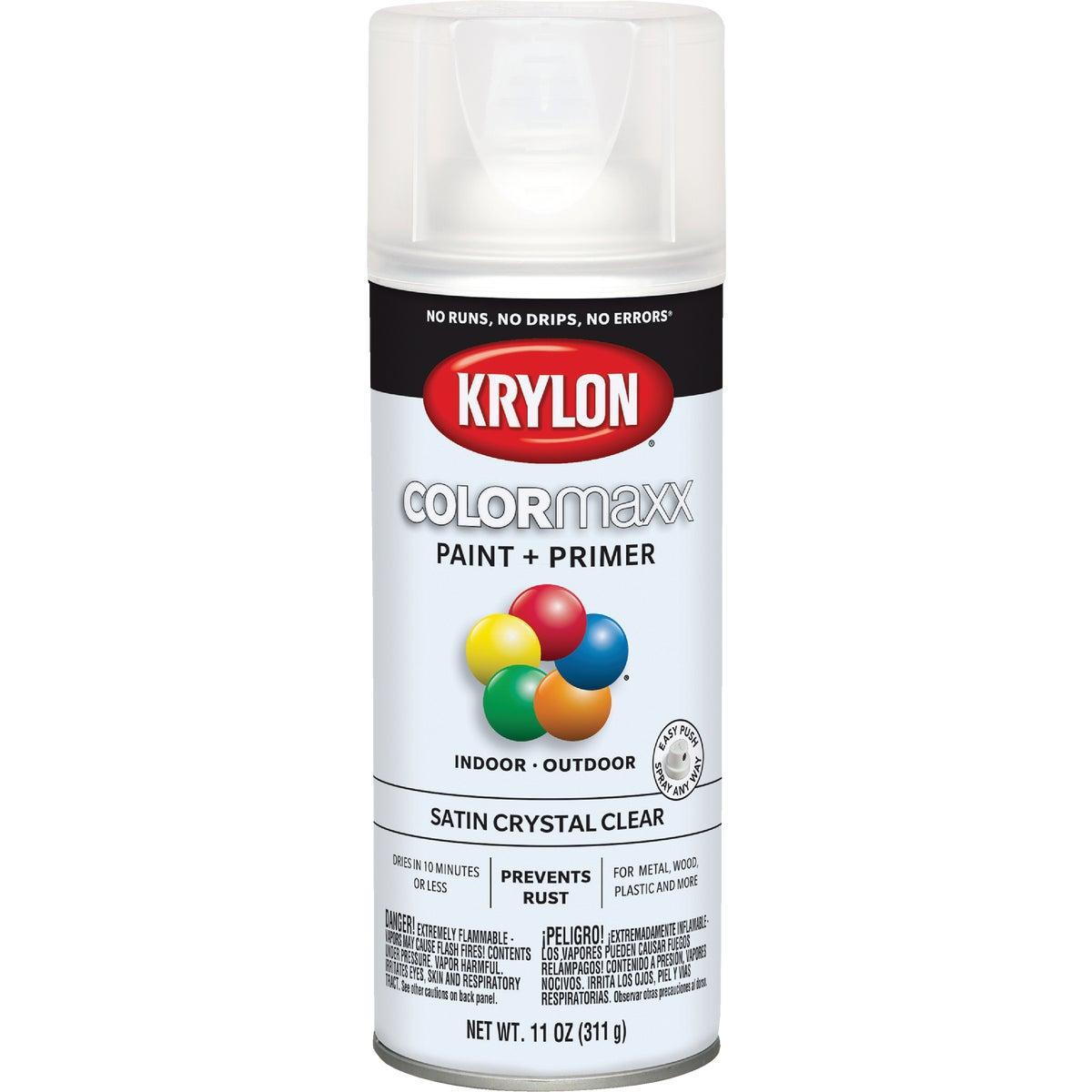 Krylon/Consumer Div CLEAR SATIN SPRAY FINISH 51313