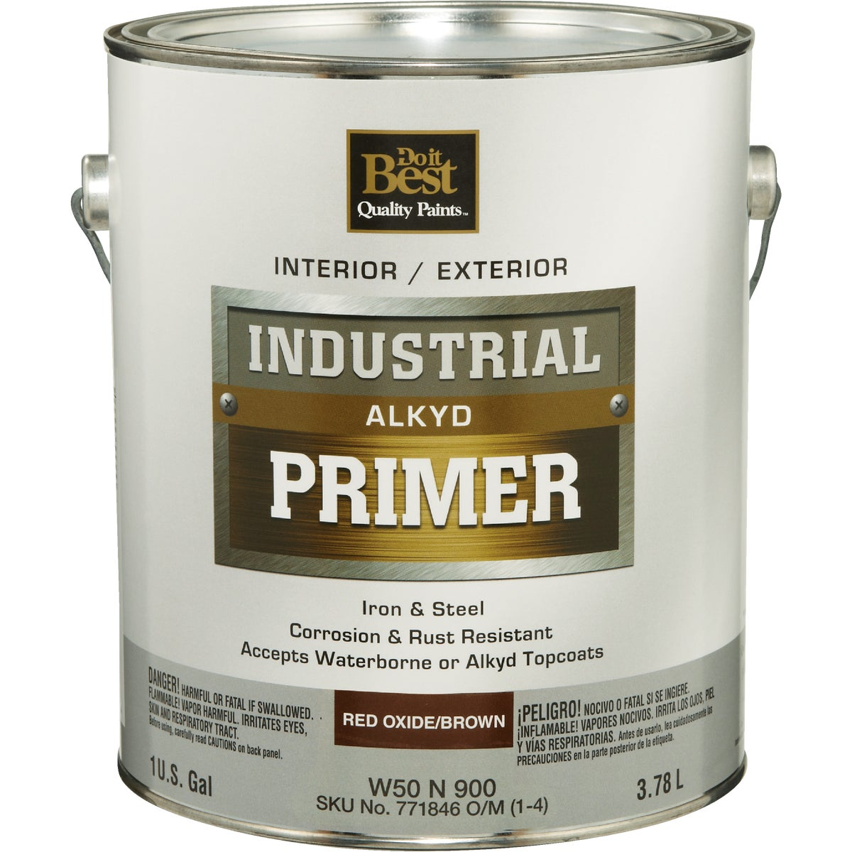 INT/EXT BRN ALKYD PRIMER - W50N00900-16 by Do it Best