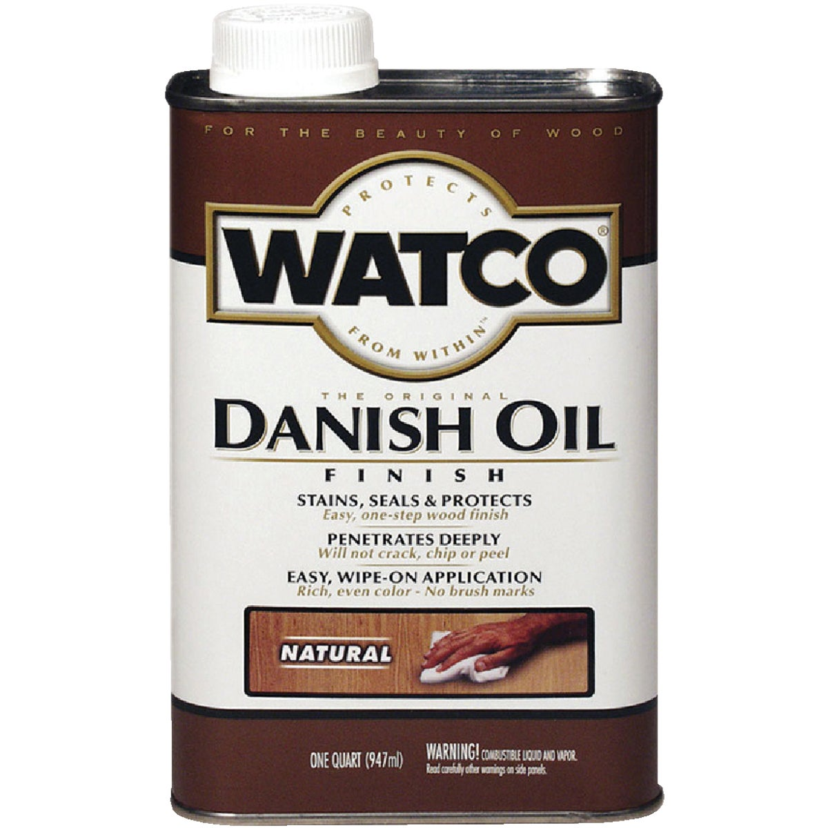 LVOC NATURAL DANISH OIL - 242218 by Rustoleum