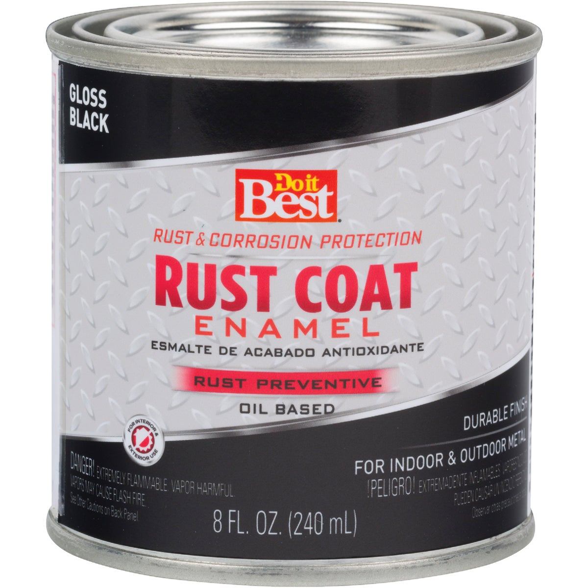 BLACK RUST ENAMEL - 1100 by Rustoleum