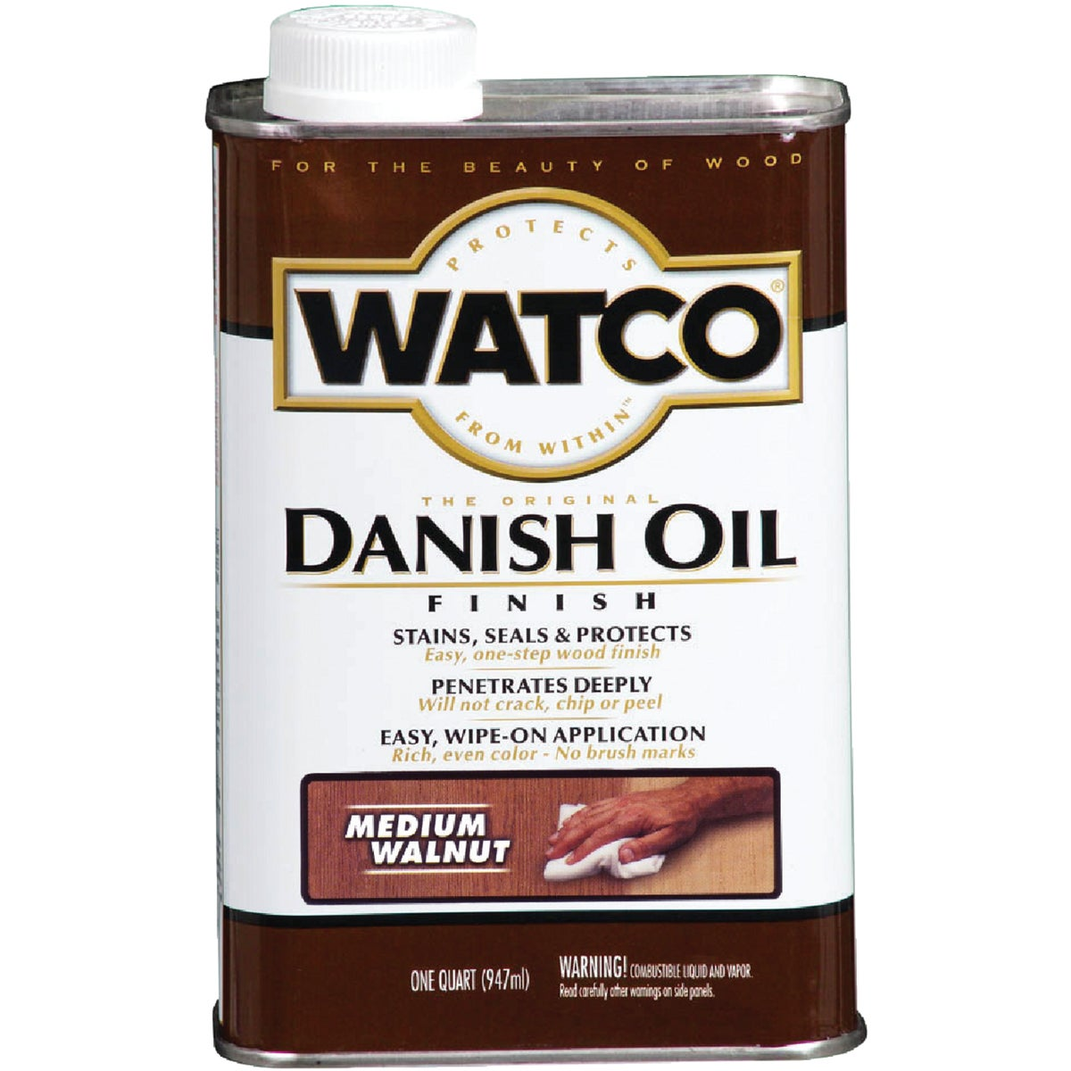 LVOC MEDWALNT DANISH OIL - 242223 by Rustoleum