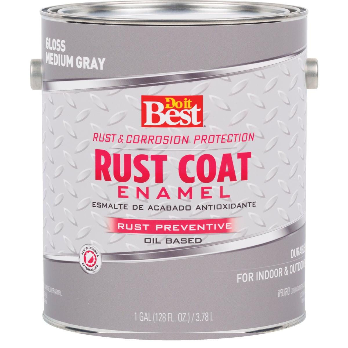 MEDIUM GRAY RUST ENAMEL - 203703D by Rustoleum