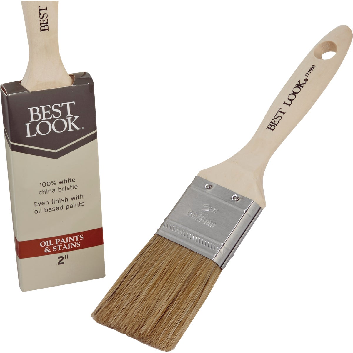 "2"" OC FS WHT BRSTL BRUSH - 1769593 by Shur Line"