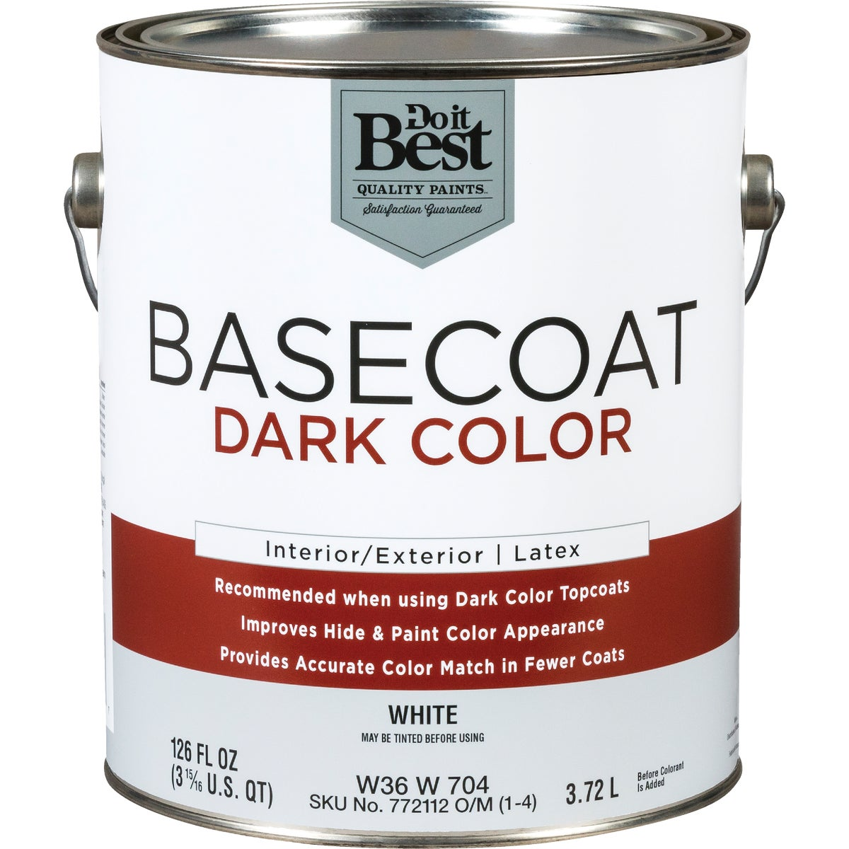 DARK COLOR BASE COAT - W36W00704-16 by Do it Best