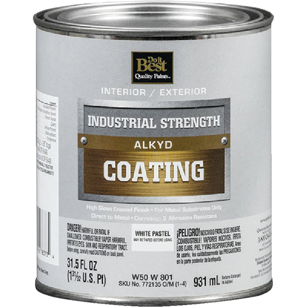 GLS PSTL/WHT ALKYD PAINT - W50W00801-44 by Do it Best