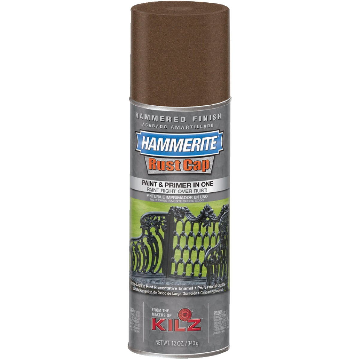 BROWN HAMMRD SPRAY PAINT - 41120 by Masterchem