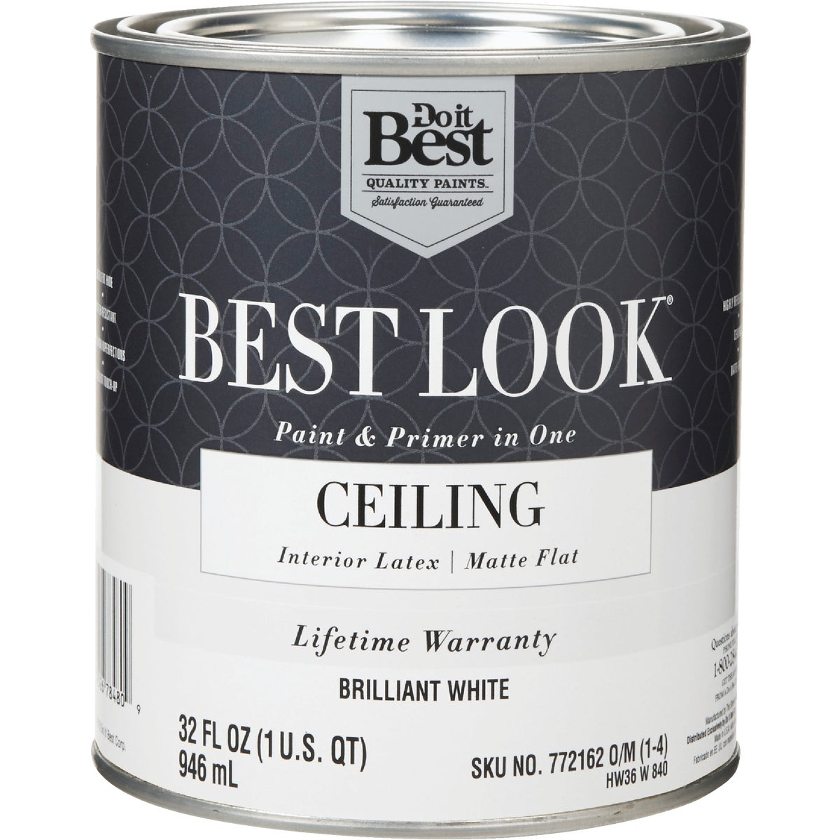 BRLNT WHT CEILING PAINT - HW36W0840-14 by Do it Best