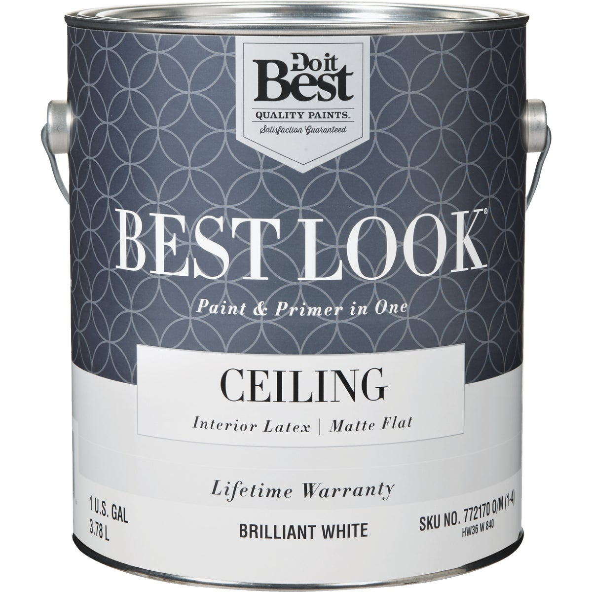 BRLNT WHT CEILING PAINT - HW36W0840-16 by Do it Best