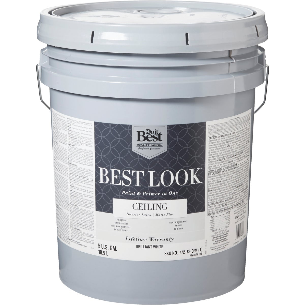 BRLNT WHT CEILING PAINT - HW36W0840-20 by Do it Best