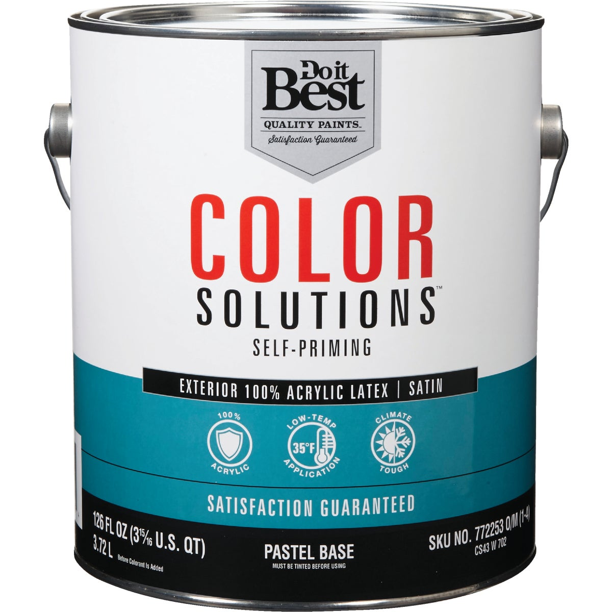 EXT SAT PASTEL BS PAINT - CS43W0702-16 by Do it Best