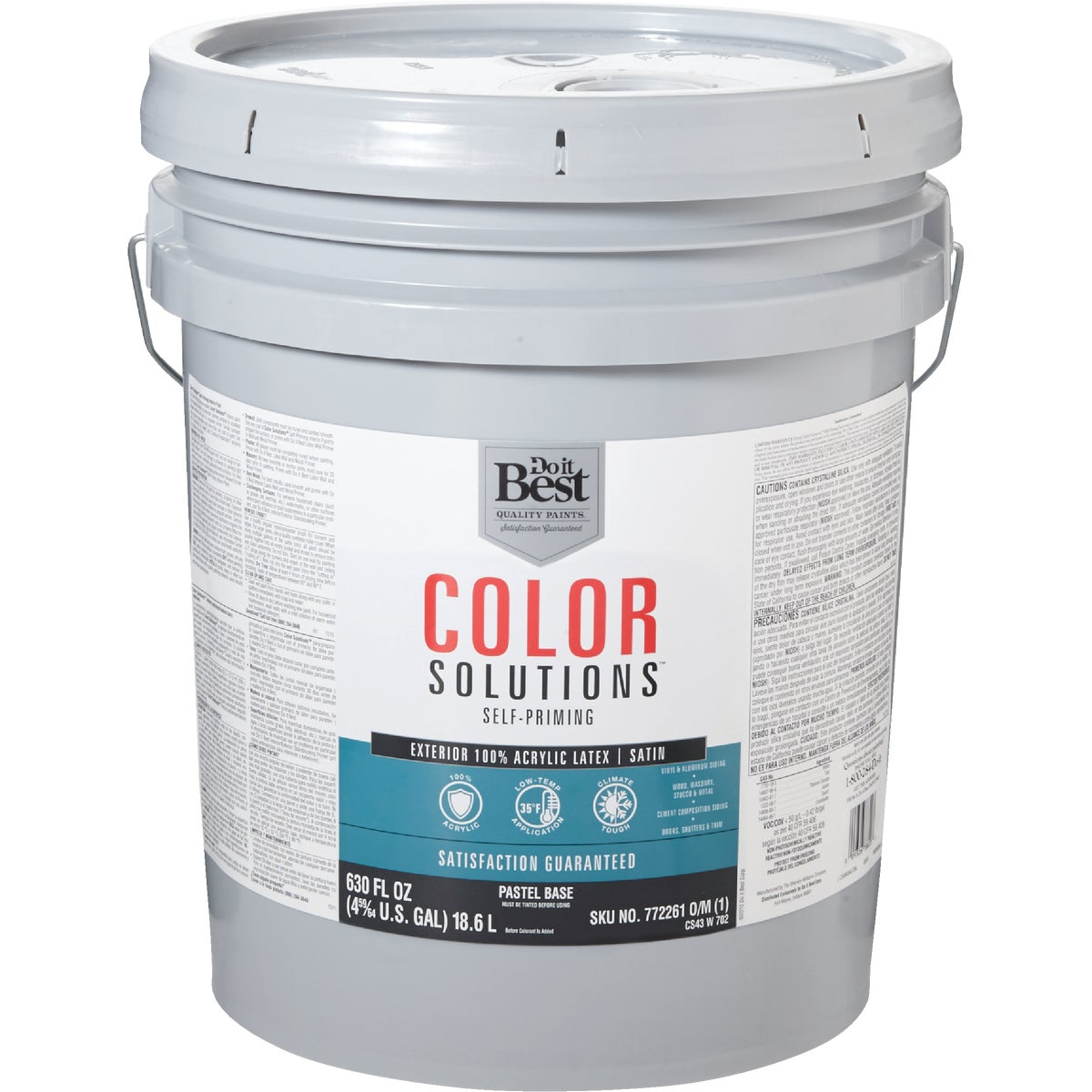 EXT SAT PASTEL BS PAINT - CS43W0702-20 by Do it Best