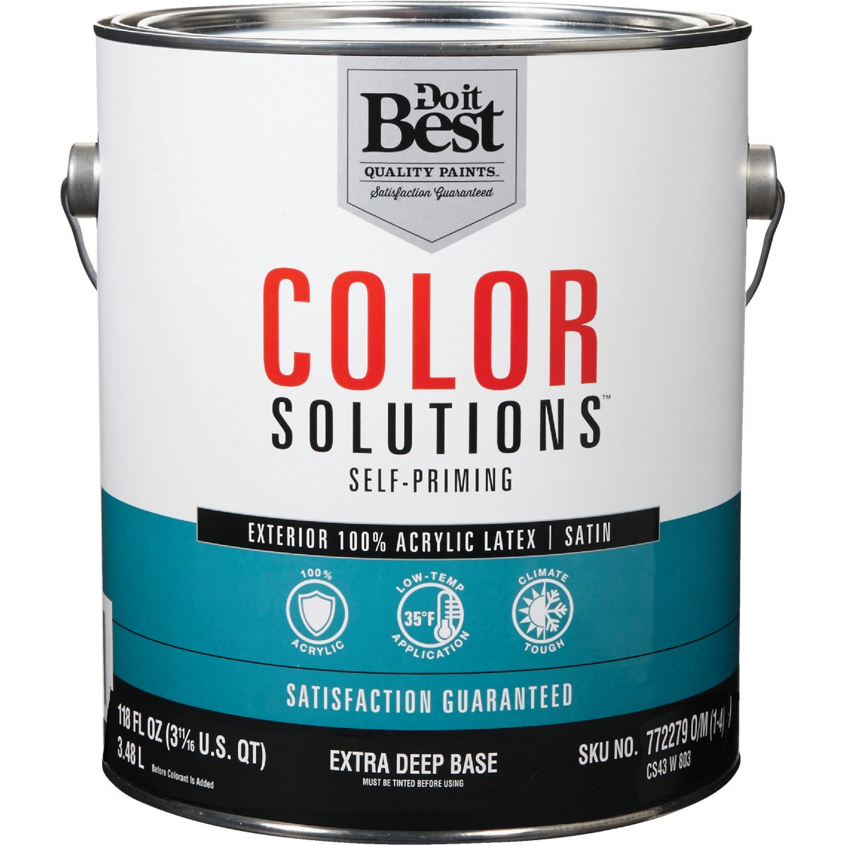EXT SAT EX DEEP BS PAINT - CS43W0803-16 by Do it Best