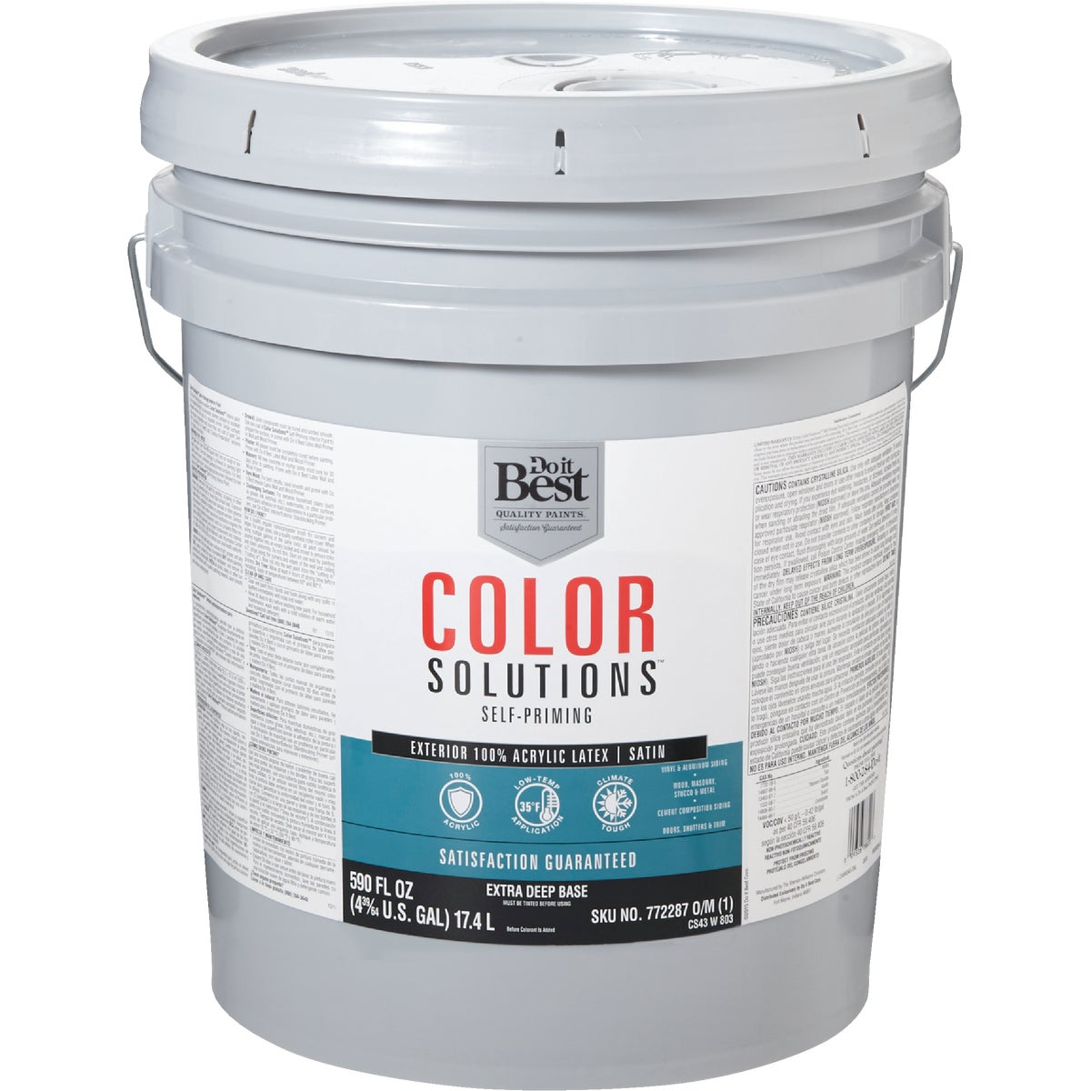 EXT SAT EX DEEP BS PAINT - CS43W0803-20 by Do it Best