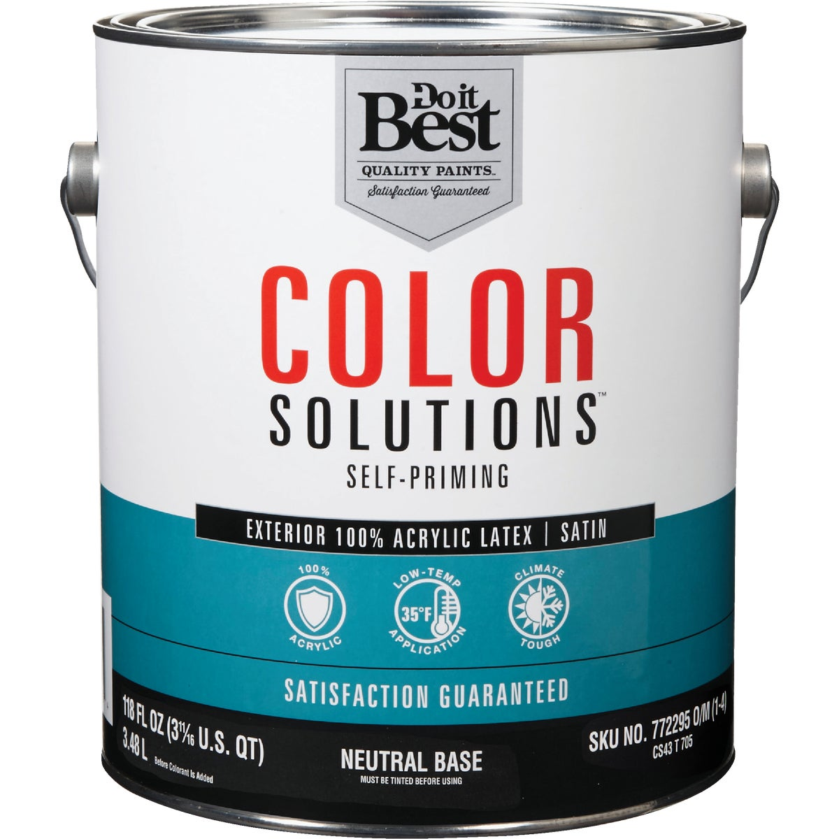 EXT SAT NEUTRAL BS PAINT - CS43T0705-16 by Do it Best