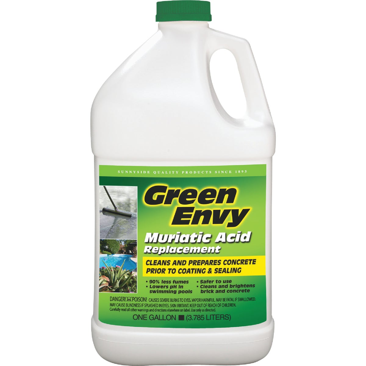 GREEN ENVY MURIATIC ACID - 610G1 by Sunnyside Corp