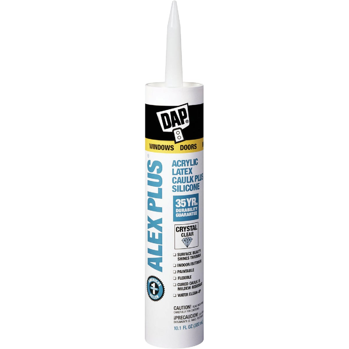CRYS CLR ALEX PLUS CAULK - 18401 by Dap Inc