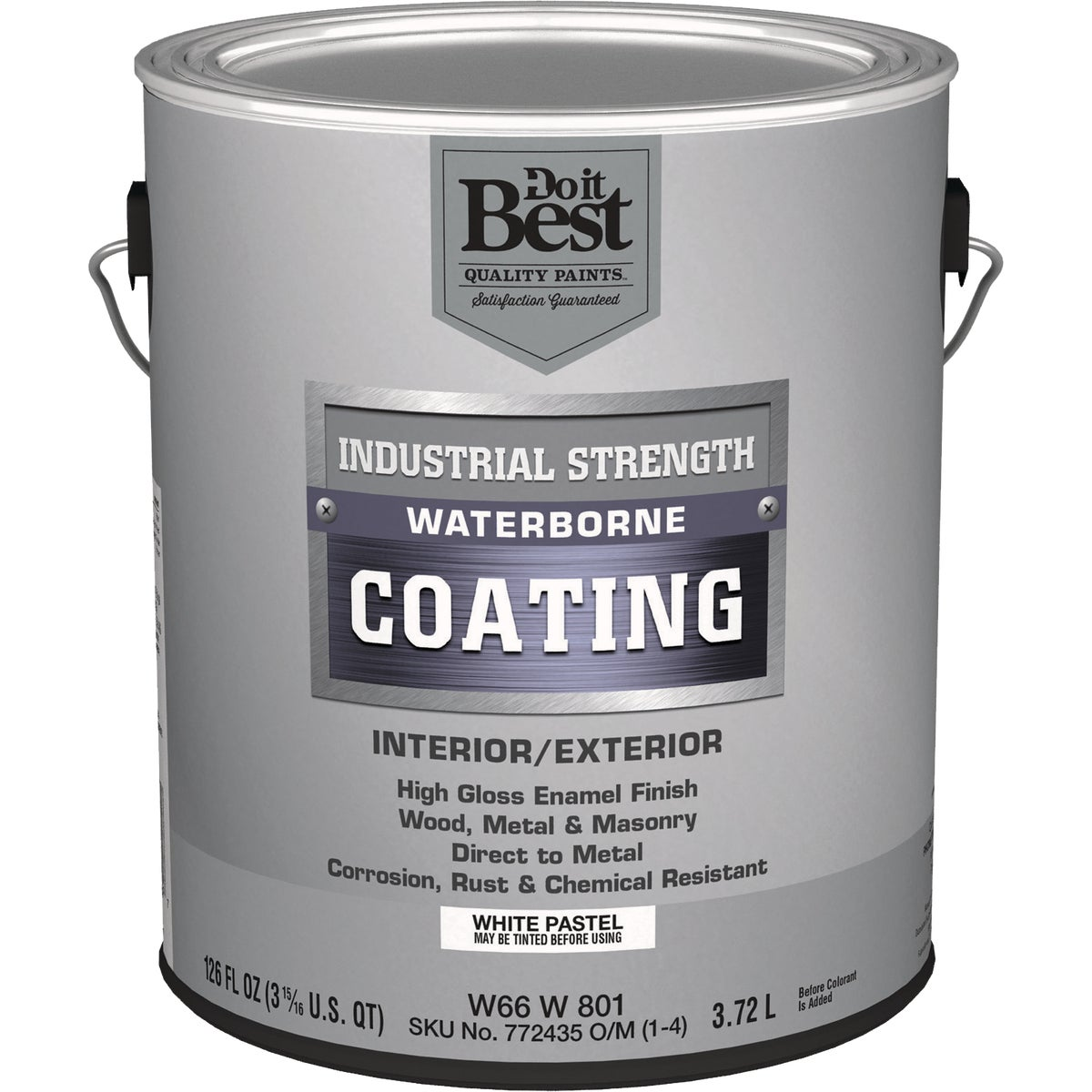 GLS PSTL/WHT LATEX PAINT - W66W00801-16 by Do it Best