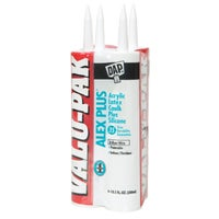 Dap 4PK WHT ALEX PLUS CAULK 18136