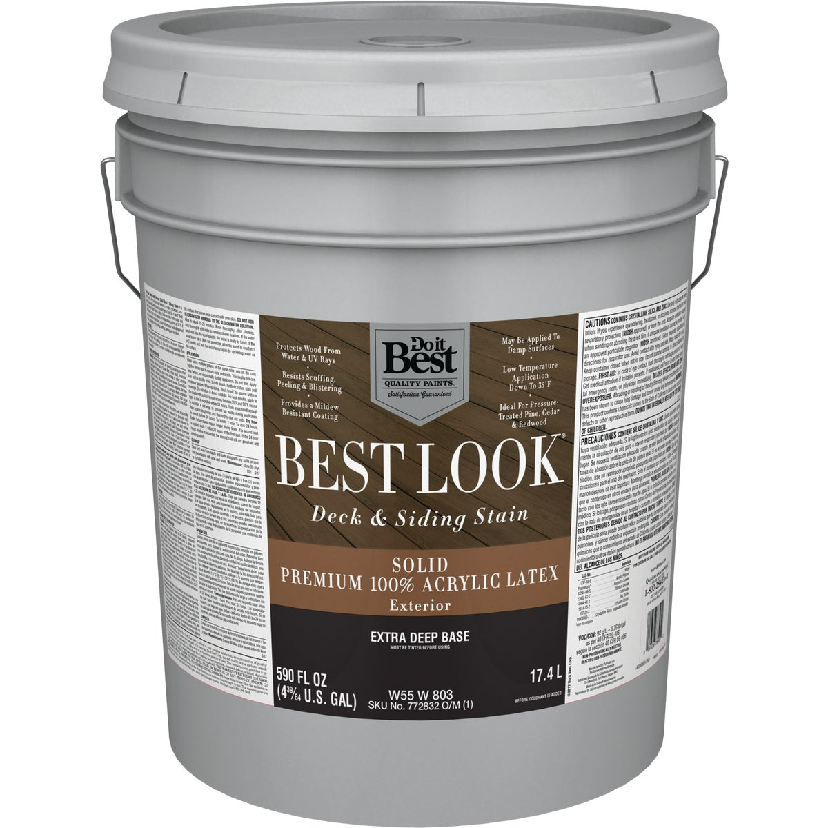 EXT LTX EX DEEP BS STAIN - W55W00803-20 by Do it Best