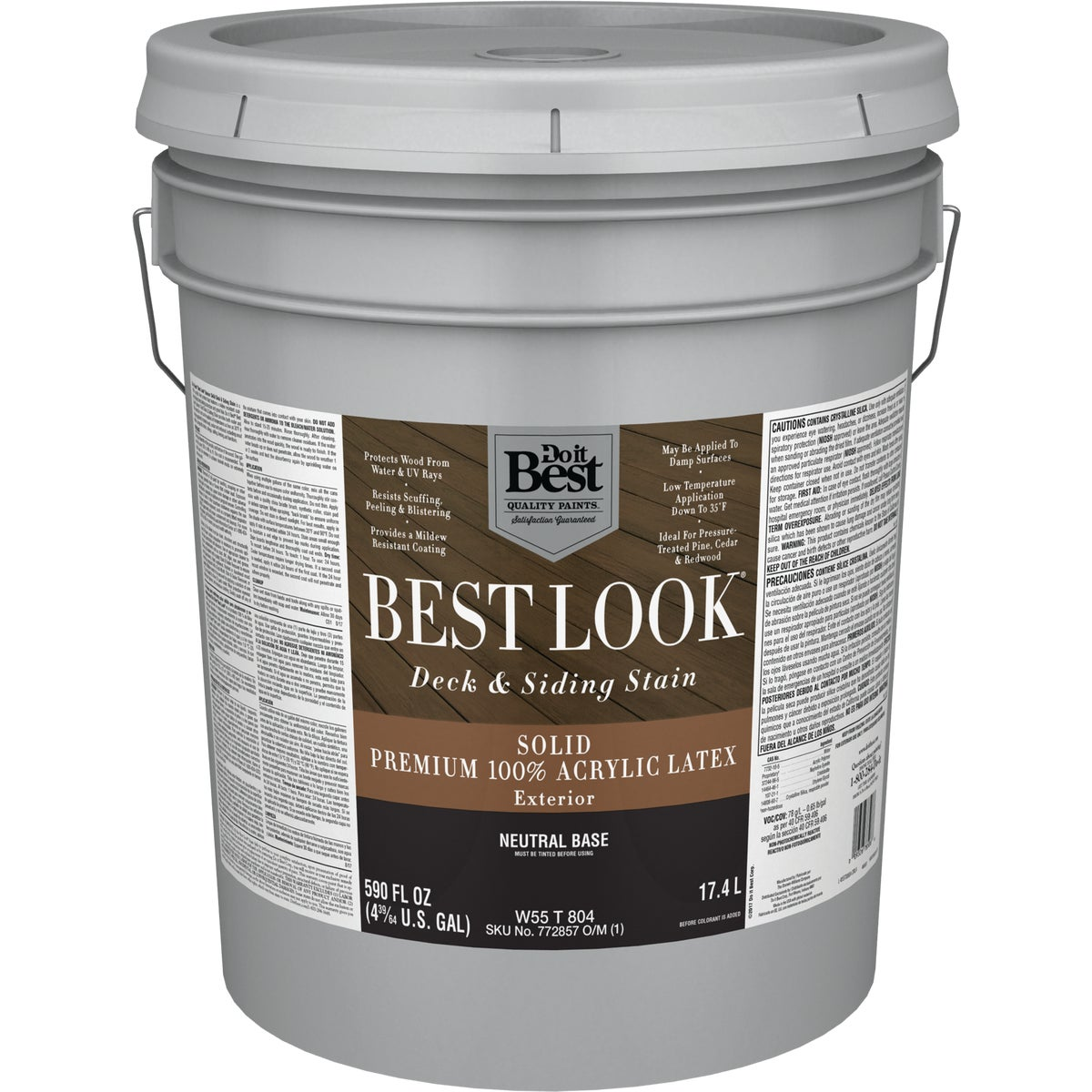 EXT LTX NEUTRAL BS STAIN - W55T00804-20 by Do it Best