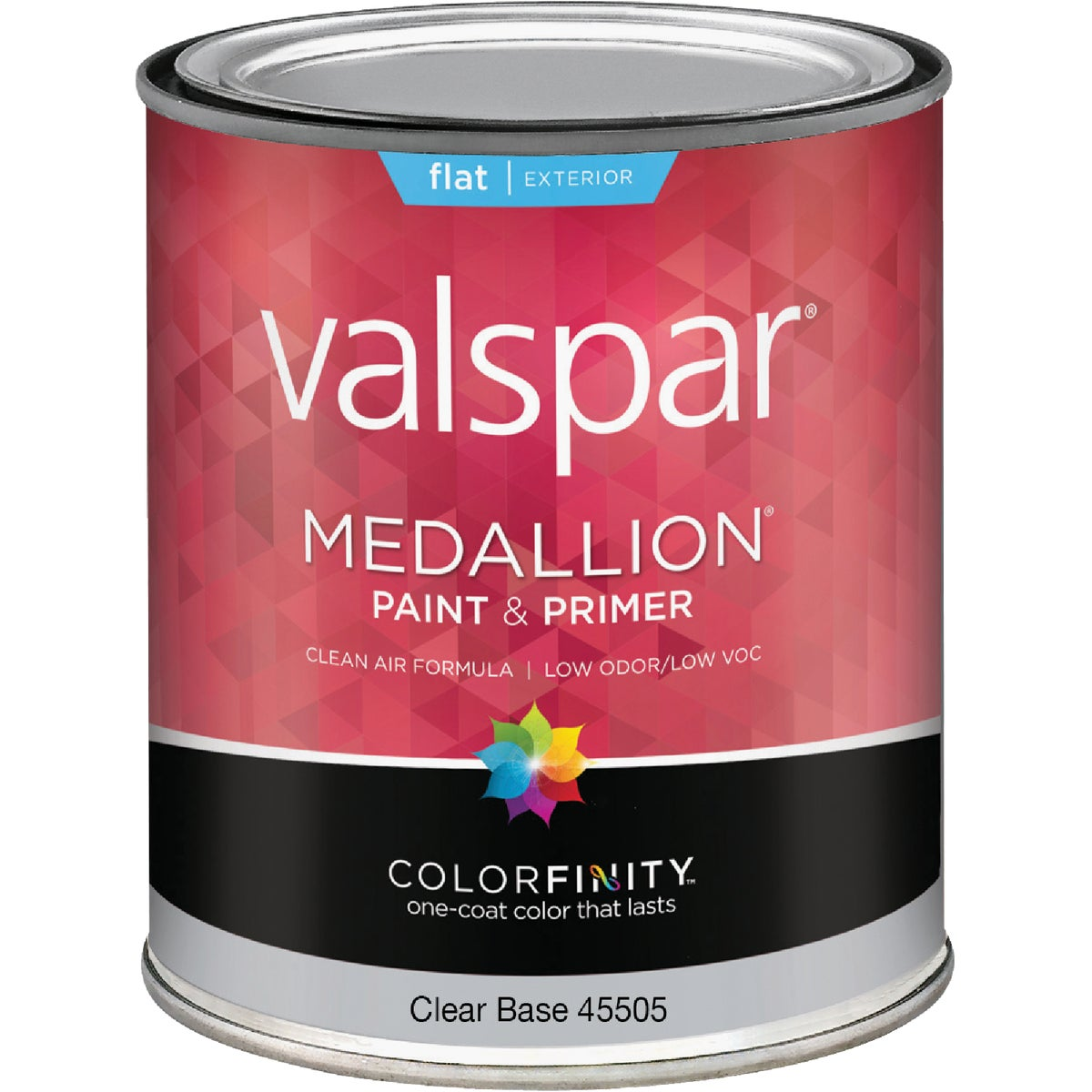 EXT FLAT CLEAR BS PAINT - 027.0045505.005 by Valspar Corp