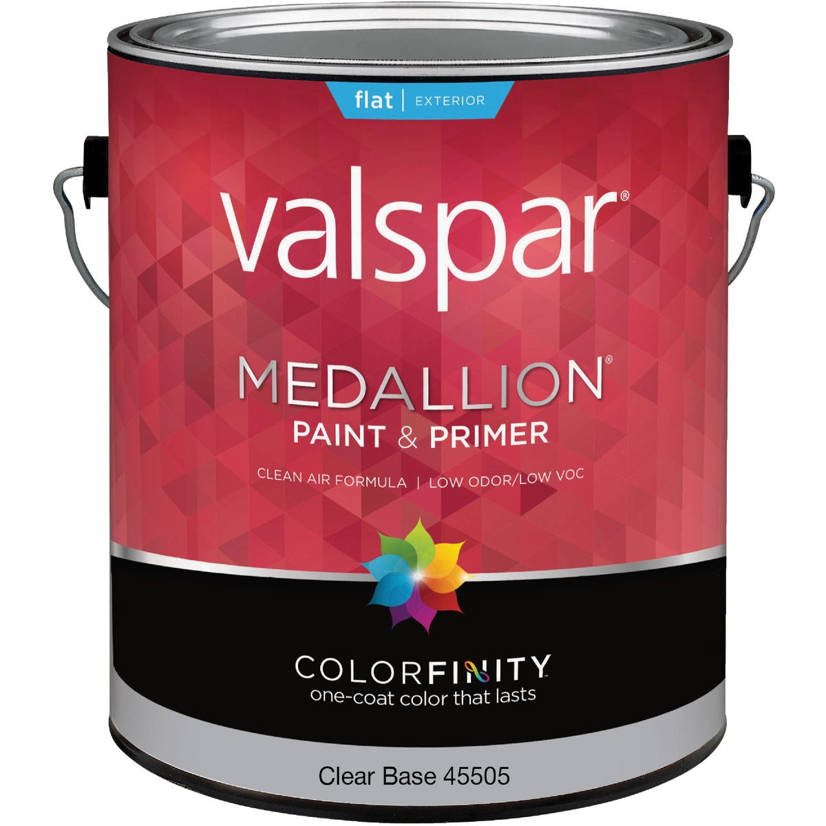 EXT FLAT CLEAR BS PAINT - 027.0045505.007 by Valspar Corp