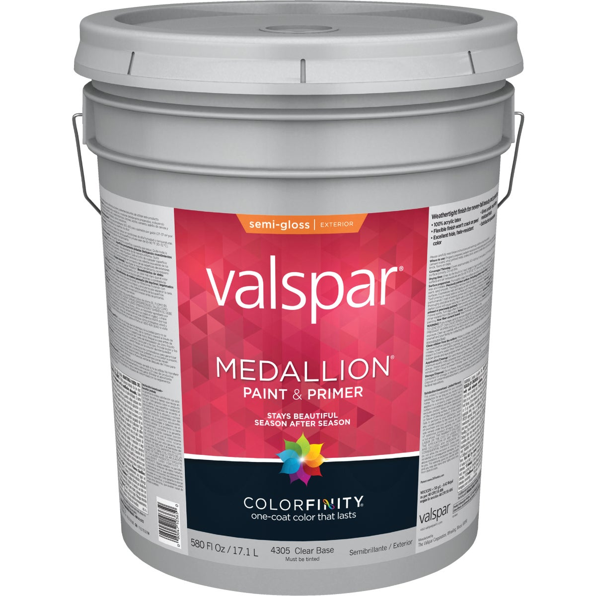 EXT S/G CLEAR BS PAINT - 027.0004305.008 by Valspar Corp
