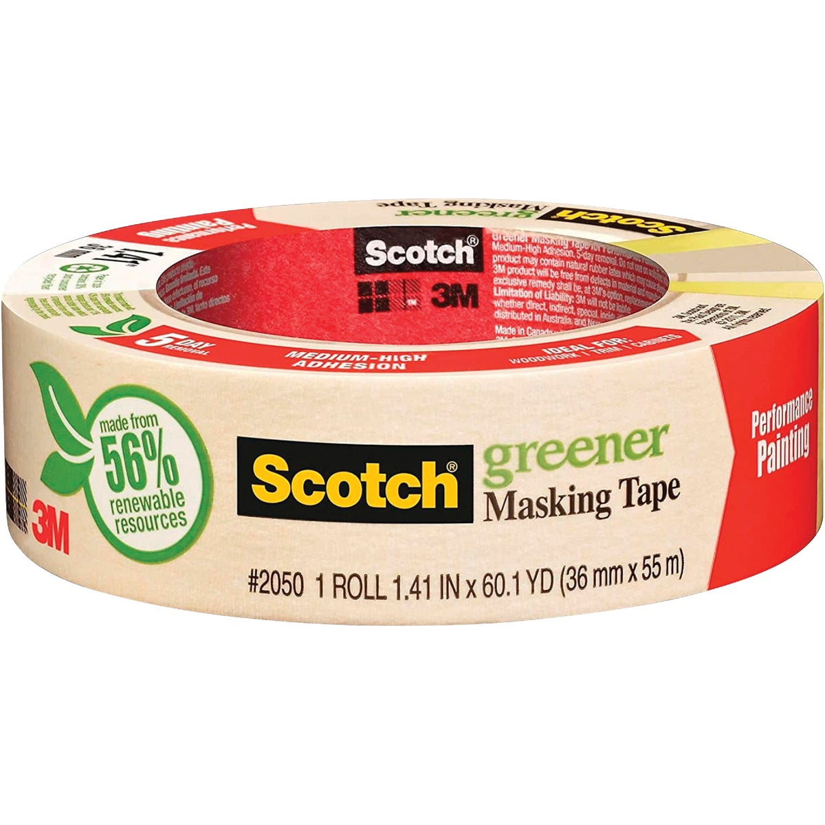 "1.5"" PAINTR MASKING TAPE - 2050-1.5A by 3m Co"