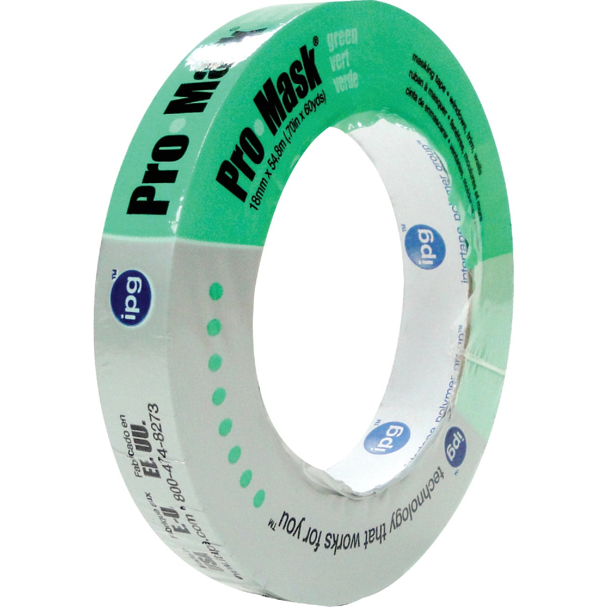 "3/4"" GREEN PAINTERS TAPE - 5802 by Intertape Polymer"