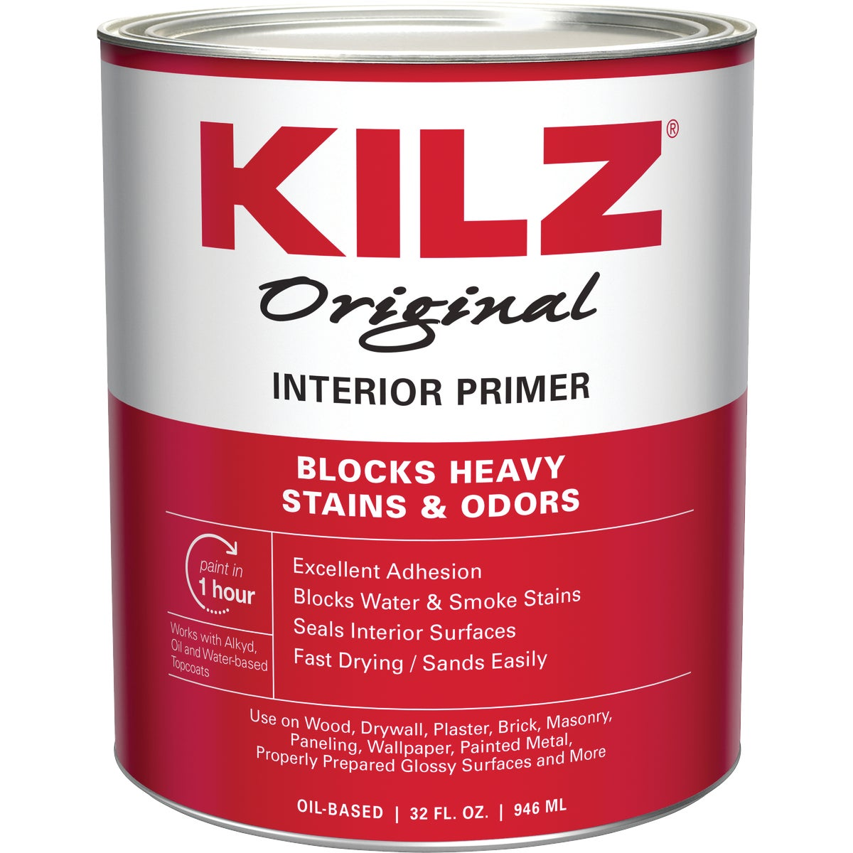 KILZ INT OIL PRIMER - 10002 by Masterchem