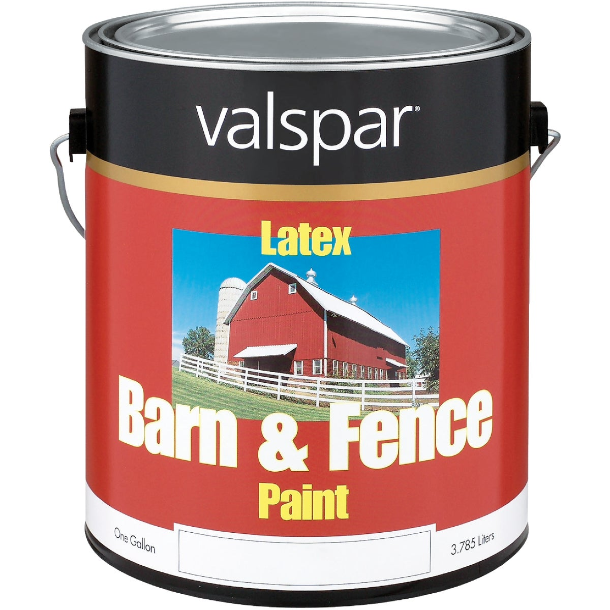 LTX FLAT RED BARN PAINT - 018.3121-10.007 by Valspar Corp