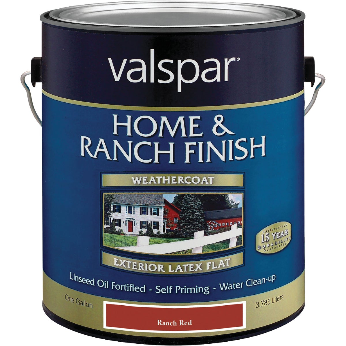 LTX FLAT RED BARN PAINT - 018.5221-10.007 by Valspar Corp