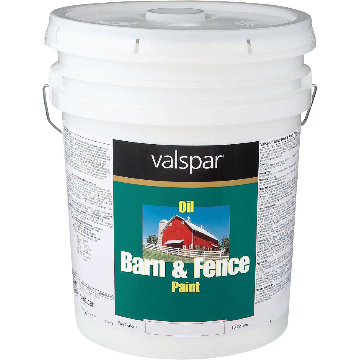 5GAL ALK WHT BARN PAINT - 018.3145-75.008 by Valspar Corp