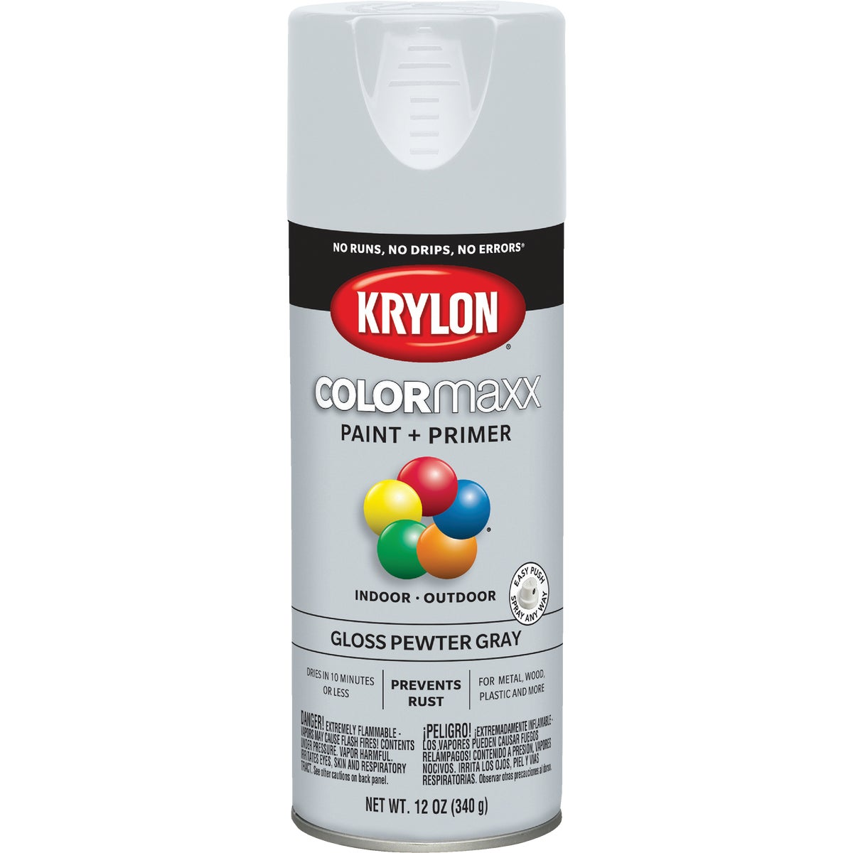 GLS PWT GRAY SPRAY PAINT - 51606 by Krylon/consumer Div