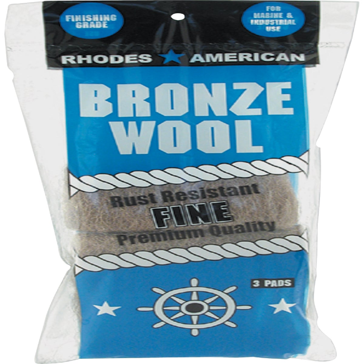 3PK FINE BRONZE WOOL - 123100 by Homax Group Inc