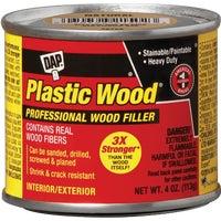 Dap 4OZ NATURAL PLASTIC WOOD 21502