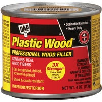 Dap 4OZ WALNUT PLASTIC WOOD 21434