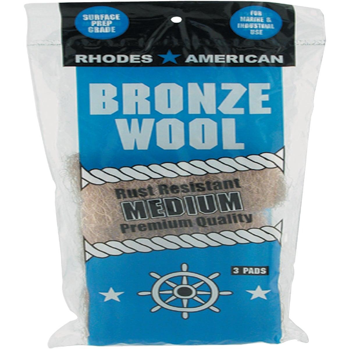 3PK MEDIUM BRONZE WOOL - 123101 by Homax Group Inc