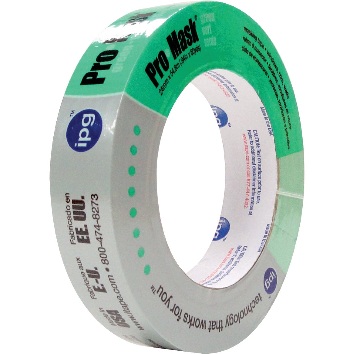 ".94"" GREEN PAINTERS TAPE - 5803 by Intertape Polymer"
