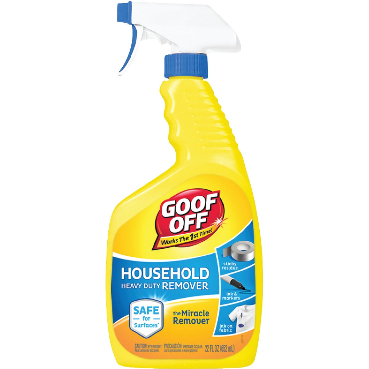22OZ GOOF OFF HD REMOVER